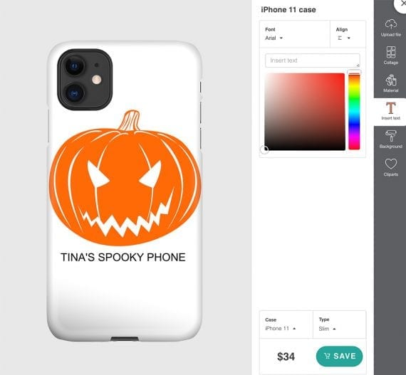 Customizing phone cases