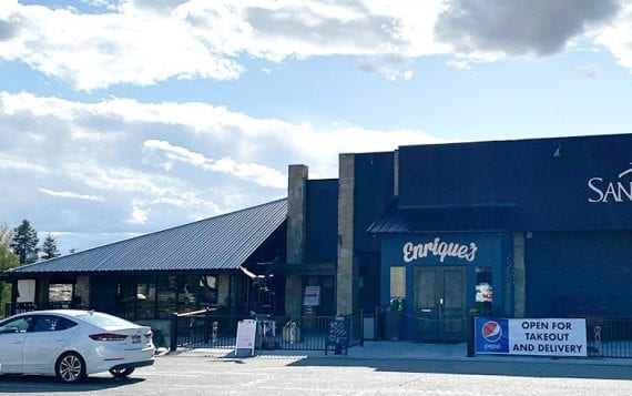 Restaurants used to serving customers table side have transformed their businesses for curbside click and collect. Enrique's in Idaho is an example.