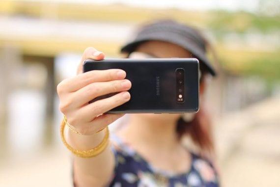 June 21, 2020, is the perfect time to take a selfie. <em>Photo: Christina Zaragoza.</em>