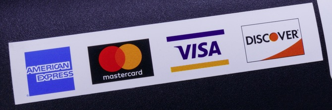 Card brands — American Express, Mastercard, Visa, and Discover — set rules and regulations for providers of merchant accounts.