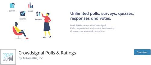 Crowd Signal Polls & amp; Grade
