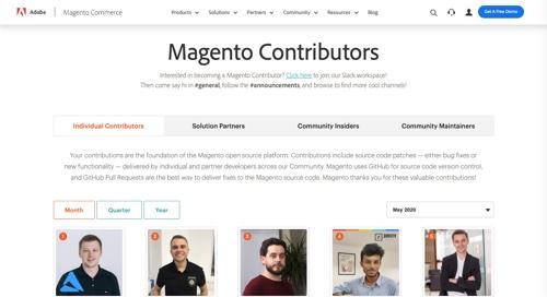 Magento Community Engineering Program