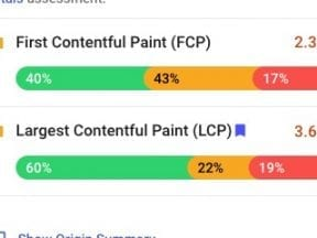 Assessing Google's 'Core Web Vitals' on Shopify Themes