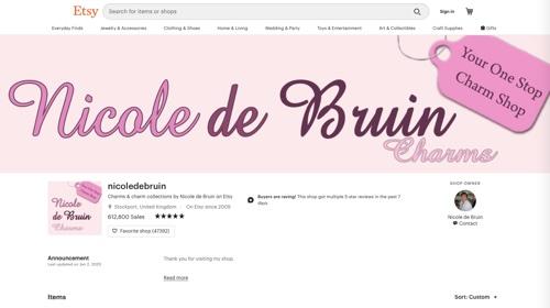Nicole de Bruin Charms