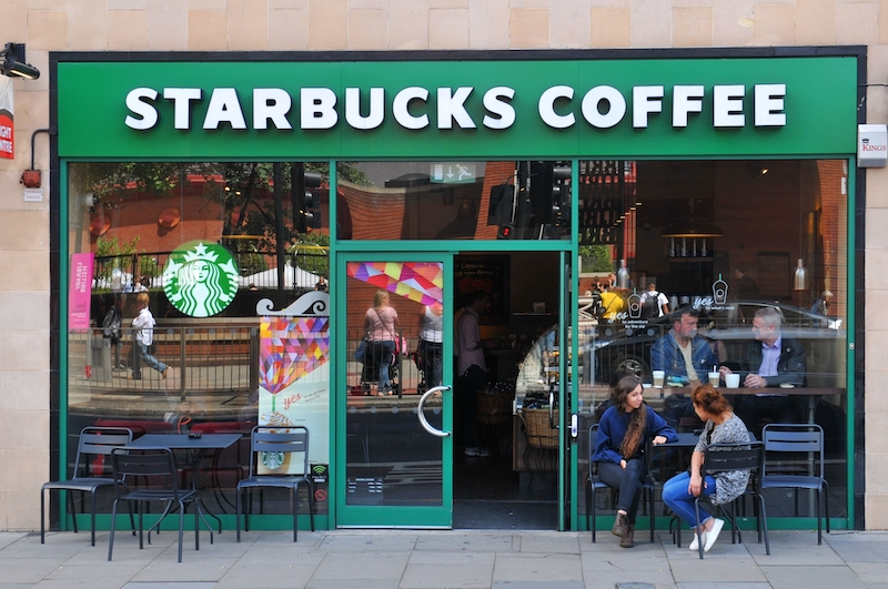 Starbucks is one of many companies that have eliminated cash payments during the pandemic.