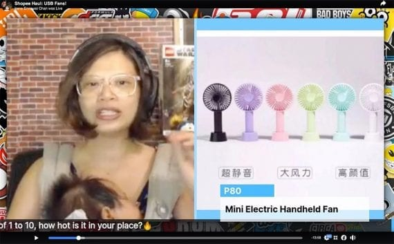 Enriquez-Chan experimented with promoting affiliate products via live stream. She managed to sell about $500 worth of goods in about two hours, earning $10 in commission.