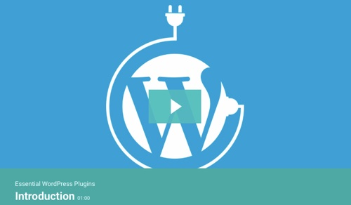 "Screenshot of ""Essential WordPress Plugins"" for Tutsplus"