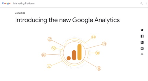 Screenshot of Google Marketing Platform