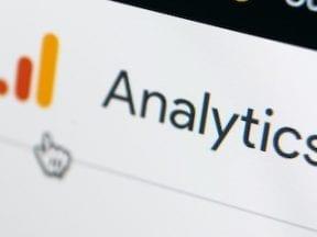 Google Analytics screencapture from a phone