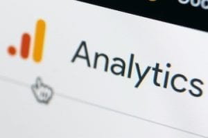 Google Analytics screencapture from a phone