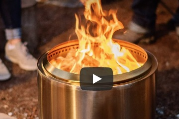 Screenshot of Solo Stove video frame