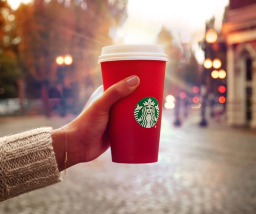 Image of a Starbucks Red Cup