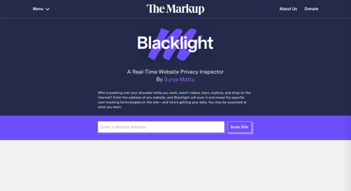 Backlight homepage