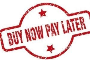 "Illustration that reads ""By Now Pay Later"""