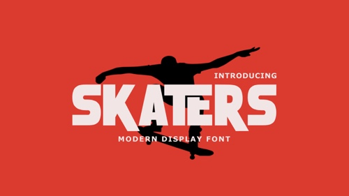 Homepage of skaters