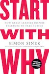 Book cover: Start with Why