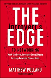 """Cover of """"The Introvert's Edge to Networking"""""""