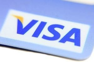 Image of a Visa card