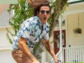 Photo of a Shopify web developer on a skateboard