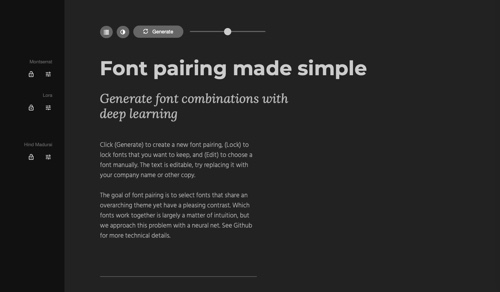 Fontjoy home page