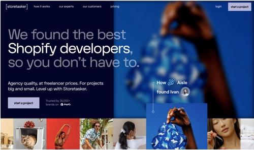 Storetasker home page
