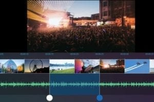 Screenshot of Movie Maker 10