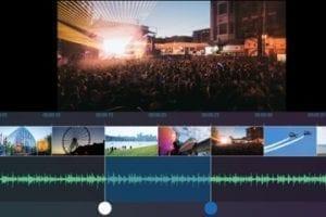 Screenshot of Movie Maker 10