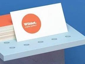 Screenshot of Wix logo maker page
