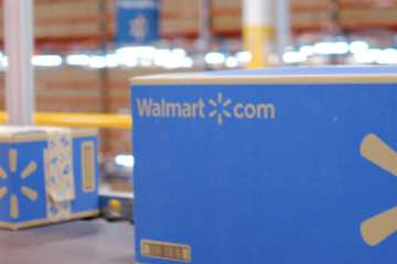 Screenshot of Walmart Fullservice Services web page