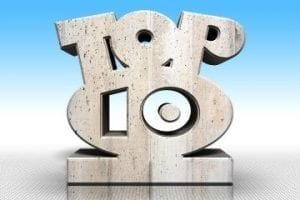 """Illustration of a """"top 10"""" image"""