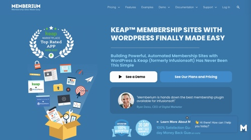 Home page Memberium