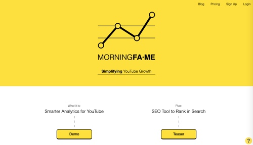 Home page of Morningfame