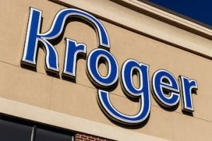 Screenshot of Kroger logo