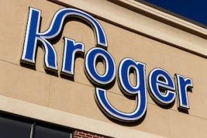 Screenshot of Kroger logo