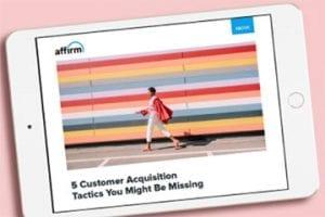 Screenshot of Affirm's ebook