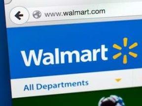 Screenshot of Walmart.com home page