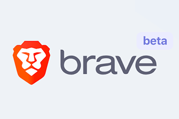 Screenshot of the Brave logo