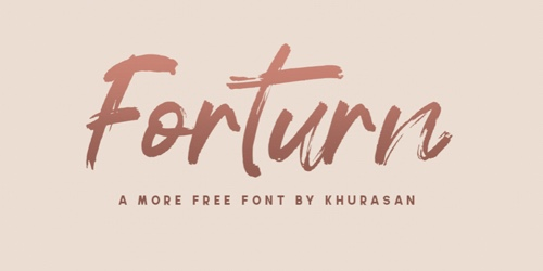 Home page of Forturn