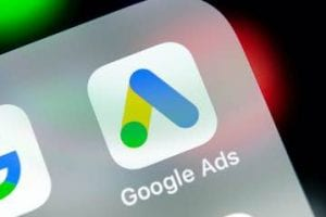 Smartphone screen showing the Google Ad's app icon