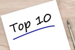 """Illustration with the words """"Top 10"""""""