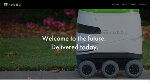 Home page of Robby Technologies