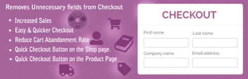 Home page of WooCommerce Checkout For Digital Goods