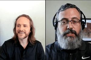 Screenshot from video of James Wirth and Armando Roggio