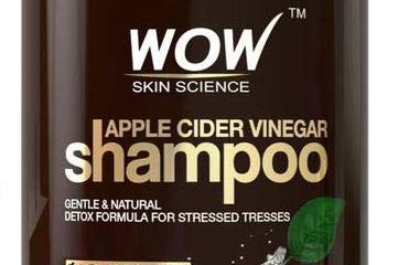 Screenshot from Amazon of the Wow Apple Cider Vinegar Shampoo page