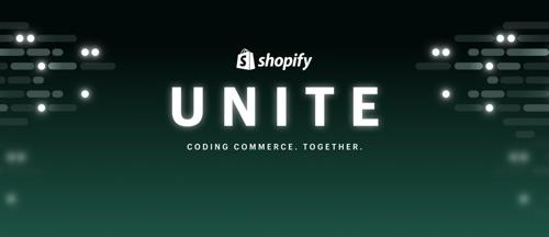 Screenshot of Shopify Unite 2021
