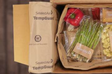 Screenshot of TempGuard packaging from SealedAir