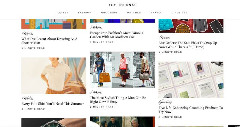 Home page of The Journal