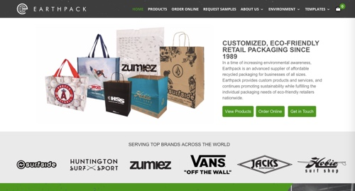 Home page of Earthpack