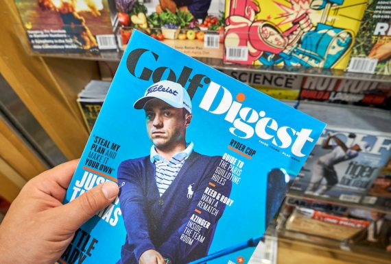 Cover of Golf Digest magazine