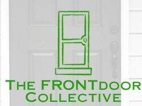 Screenshot from home page of Front Door Collective